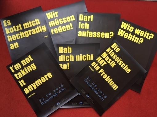 Aktionstag an der HMT Leipzig Machtmissbrauch und sexualisierte Diskriminierung in der Musik(-Ausbildung)