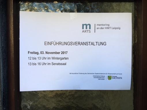 Eröffnung des ersten m-Arts-Durchgangs Erfolgreicher Start für 24 Mentees